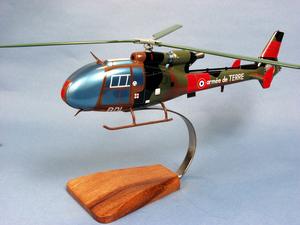 maquette d'helicoptère AS341F Gazelle - 39 cm Pilot's Station Quirao idées cadeaux