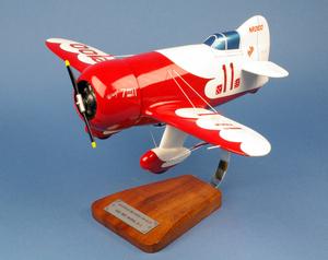 maquette d'avion Granville Gee Bee R2 Model - Racer - 43 cm Pilot's Station Quirao idées cadeaux