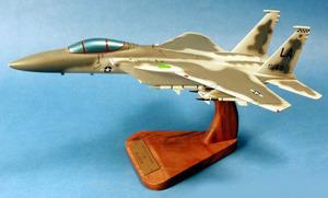 maquette d'avion McDonnell Douglas F.15C Eagle - USAF - 41 cm Pilot's Station Quirao idées cadeaux
