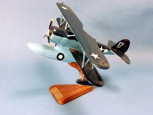 maquette d'avion Duck J2F - USN - 33 cm Pilot's Station Quirao idées cadeaux