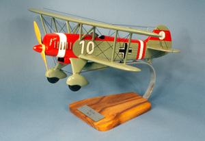 maquette d'avion Heinkel He.51 - II./JG 132  Richthofen  - 46 cm Pilot's Station Quirao idées cadeaux
