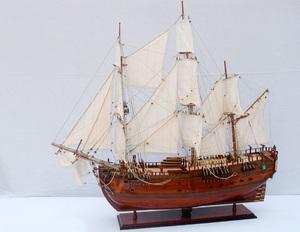 maquette de bateau, voilier, runabout HMS Endeavour - (coque 80 cm) Old Modern Handicrafts Quirao idées cadeaux