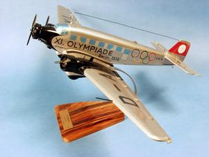 maquette d'avion Junkers Ju.52 - Lufthansa XI Olymp - 42 cm Pilot's Station Quirao idées cadeaux