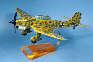 maquette d'avion Junkers 87 Stuka H-U Rudel Luftwaffe  - 48 cm Pilot's Station Quirao idées cadeaux