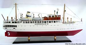 maquette de bateau, voilier, runabout Korsholm III - 60 cm Old Modern Handicrafts Quirao idées cadeaux