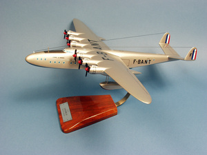 maquette d'avion Latécoère Laté 631  paquebot des airs  Lionel de Marmier - 57 cm Pilot's Station Quirao idées cadeaux