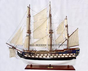 maquette de bateau, voilier, runabout Protecteur (Le) - (coque 80 cm) Old Modern Handicrafts Quirao idées cadeaux