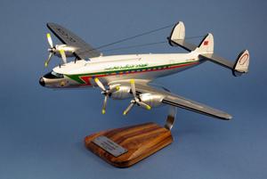 maquette d'avion Constellation L-749  Royal Air Maroc CN-CCN - 53 cm Pilot's Station Quirao idées cadeaux