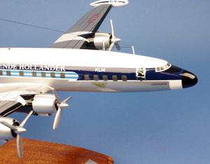 maquette d'avion Lockheed L.1049 Super G KLM - 53 cm Pilot's Station Quirao idées cadeaux