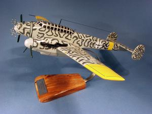 maquette d'avion Messerschmitt BF110G.4- 52 cm Pilot's Station Quirao idées cadeaux