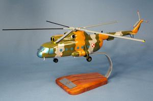 maquette d'helicoptère Mil Mi-8T Hip - 46 cm Pilot's Station Quirao idées cadeaux