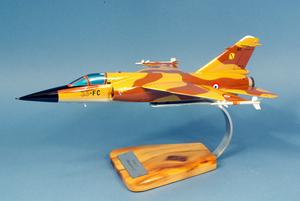 maquette d'avion Mirage F.1C - Escadrille 3/33 Lorraine - 38 cm Pilot's Station Quirao idées cadeaux