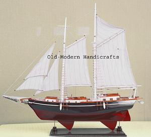 maquette de bateau, voilier, runabout Nathanael - 80 cm Old Modern Handicrafts Quirao idées cadeaux