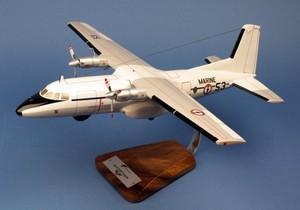 maquette d'avion Nord 262E Frégate EPV 56S - 41 cm Pilot's Station Quirao idées cadeaux