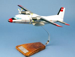 maquette d'avion Fregate Nord 262 - F.A.F - 41 cm Pilot's Station Quirao idées cadeaux