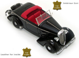 miniature de voiture Peugeot 301 Aérodynamique CR TR5 Roadster 1934 Challange Quirao idées cadeaux