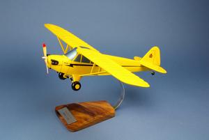 maquette d'avion Piper J-3 Cub - Civil - 54 cm Pilot's Station Quirao idées cadeaux
