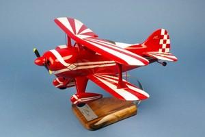 maquette d'avion Pitts Special S.1 - 38 cm Pilot's Station Quirao idées cadeaux