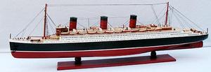 maquette de bateau, voilier, runabout Queen Mary - 80 cm Old Modern Handicrafts Quirao idées cadeaux
