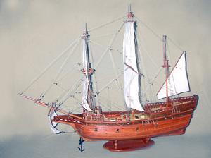 maquette de bateau, voilier, runabout San Miguel Archangel - (coque 80 cm) Old Modern Handicrafts Quirao idées cadeaux