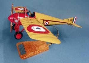 maquette d'avion Morane-Saulnier Type N - F.A.F - 34 cm Pilot's Station Quirao idées cadeaux