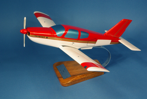 maquette d'avion Socata Trinidad TB.20 - Civil - 45 cm Pilot's Station Quirao idées cadeaux