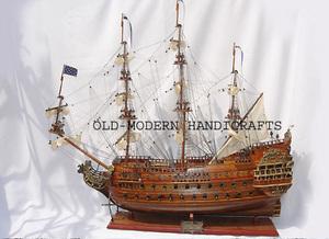 maquette de bateau, voilier, runabout Soleil Royal - (coque 80 cm) Old Modern Handicrafts Quirao idées cadeaux