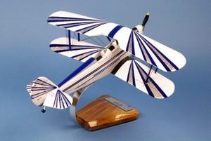 maquette d'avion Stampe SV.4 - Civil - 40 cm Pilot's Station Quirao idées cadeaux