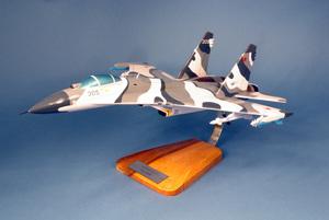 maquette d'avion Sukhoi 27 Flanker Pilot's Station Quirao idées cadeaux