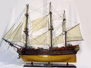 maquette de bateau, voilier, runabout Superbe coque bois (coque 80 cm) Old Modern Handicrafts Quirao idées cadeaux