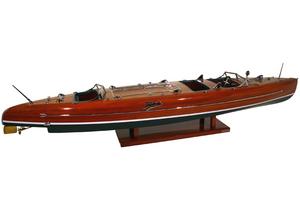 maquette de bateau, voilier, runabout Typhoon - 92 cm Kiade Quirao idées cadeaux