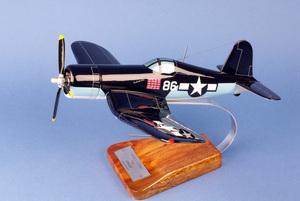 maquette d'avion Vought F-4U1 Corsair - VMF214  Black Sheep - 43 cm Pilot's Station Quirao idées cadeaux