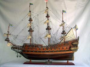 maquette de bateau, voilier, runabout Wasa - (coque 80 cm) Old Modern Handicrafts Quirao idées cadeaux