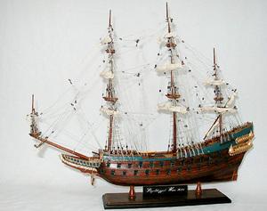 maquette de bateau, voilier, runabout Wasa - 40 cm Old Modern Handicrafts Quirao idées cadeaux