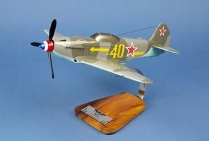 maquette d'avion Yak 3 GC.3 Normandie Niemen Lt Maurice Amarger - 39 cm Pilot's Station Quirao idées cadeaux