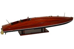 maquette de bateau, voilier, runabout Zipper - 50 cm Kiade Quirao idées cadeaux