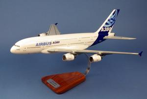 maquette d'avion Airbus A.380-800 n/c - 55 cm Pilot's Station Quirao idées cadeaux
