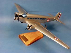 maquette d'avion Amiot AAC.1 Toucan -Junkers.52 - 62 cm Pilot's Station Quirao idées cadeaux