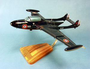 maquette d'avion Aquilon 203 SNCASE Flottille 11F- 44 cm Pilot's Station Quirao idées cadeaux