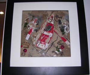 tableau 3d Barque Patrick Richard Quirao idées cadeaux