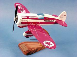 maquette d'avion Beech Aircraft Travel Air - Texaco Racer - 29 cm Pilot's Station Quirao idées cadeaux