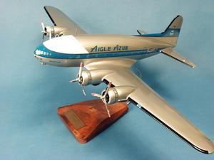 maquette d'avion Boeing 307 Stratoliner Aigle Azur - 59 cm Pilot's Station Quirao idées cadeaux