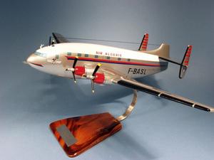 maquette d'avion Breguet 761 2 Ponts Air Algérie F-BASL - 53 cm Pilot's Station Quirao idées cadeaux