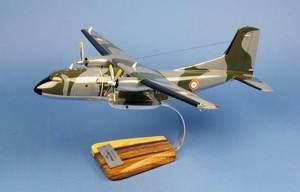 maquette d'avion C-160F Transall Armée de l'Air o/c- 1/80 Pilot's Station Quirao idées cadeaux