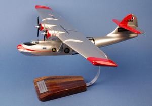 maquette d'avion Catalina PBY-5  Sécurité Civile - 65 cm Pilot's Station Quirao idées cadeaux