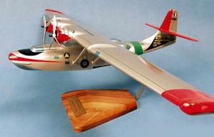 maquette d'avion Catalina PBY-6  Sécurité Civile - 65 cm Pilot's Station Quirao idées cadeaux