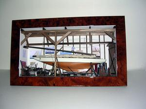 tableau 3d Chantier naval Patrick Richard Quirao idées cadeaux