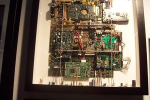 tableau 3d Computer Patrick Richard Quirao idées cadeaux