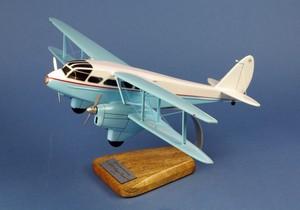 maquette d'avion De Havilland DH.89 Dragon Rapide - 52 cm Pilot's Station Quirao idées cadeaux