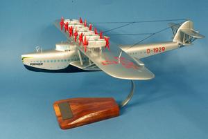 maquette d'avion Dornier Do.X - Lufthansa - 48 cm Pilot's Station Quirao idées cadeaux